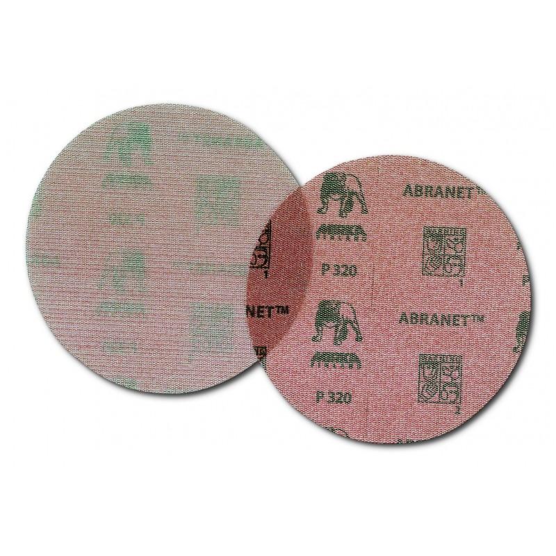ABRANET SOFT P800 csiszolóháló vékony szivacsos hátoldallal 20 darab / doboz