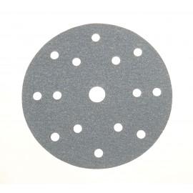 MIRKA BASECUT P100 tépőzáras csiszolótárcsa Ø150mm 15lyukas, 100 darab /doboz Minimális rendelési mennyiség 100 db!