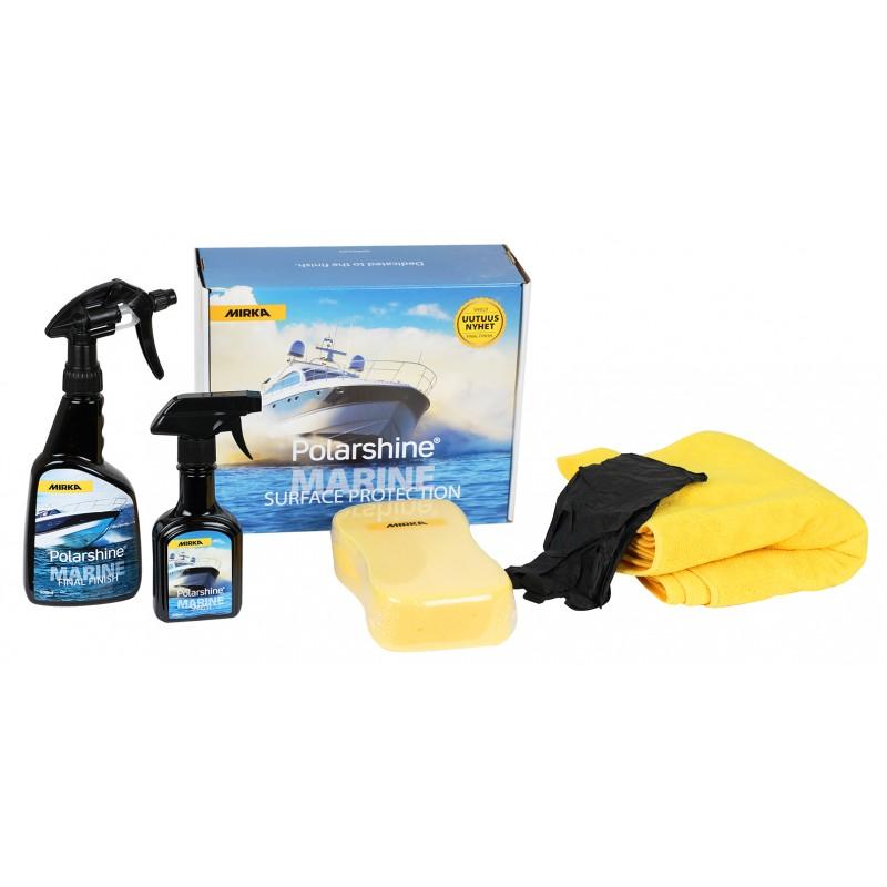 MIRKA Polarshine Marine Surface Protection Kit